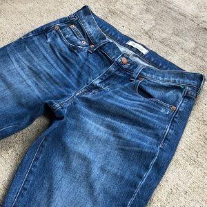 "Madewell Boyfriend blue Jeans 25 Slim 29"""